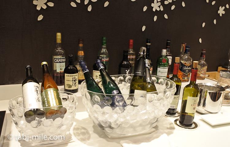 JALサクララウンジ 酒類