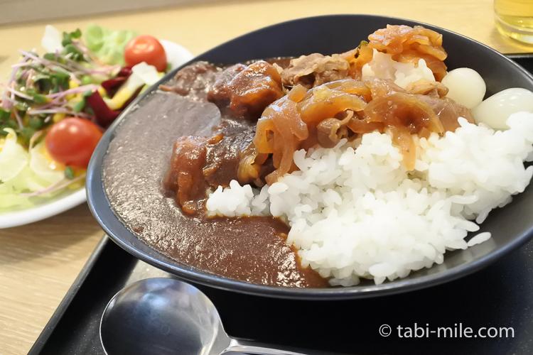 JALサクララウンジ 特製ビーフカレー 牛丼2