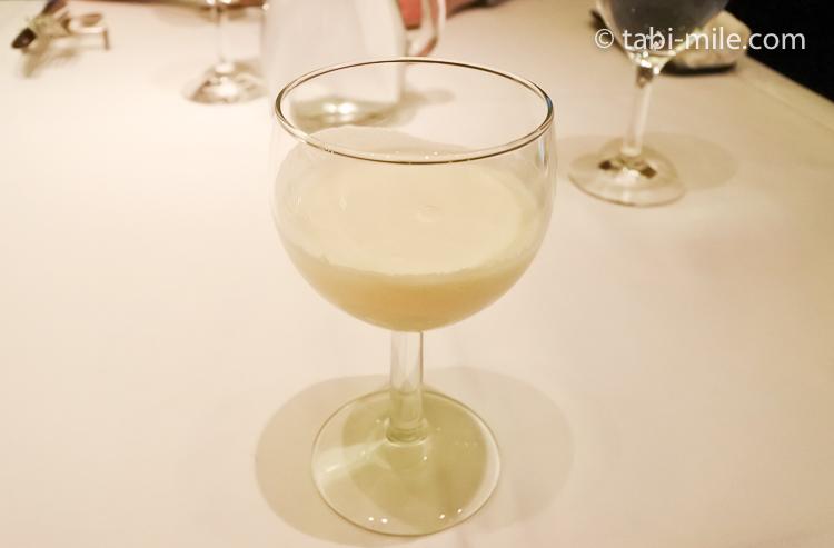 銀座栃木屋本店 ジャガイモのスープ