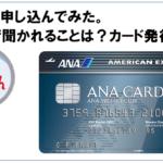 ANAアメックス審査