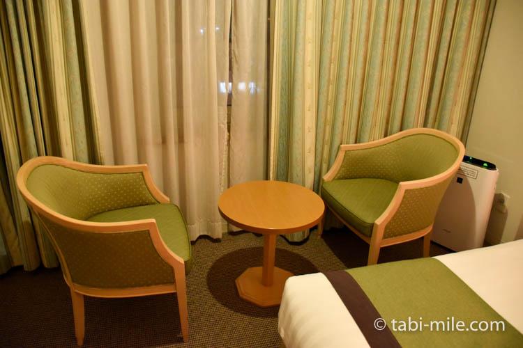 青森旅行 ホテルJALシティ青森 部屋 椅子 机