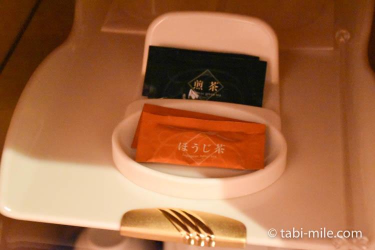 青森旅行 ホテルJALシティ青森 部屋 緑茶 ほうじ茶