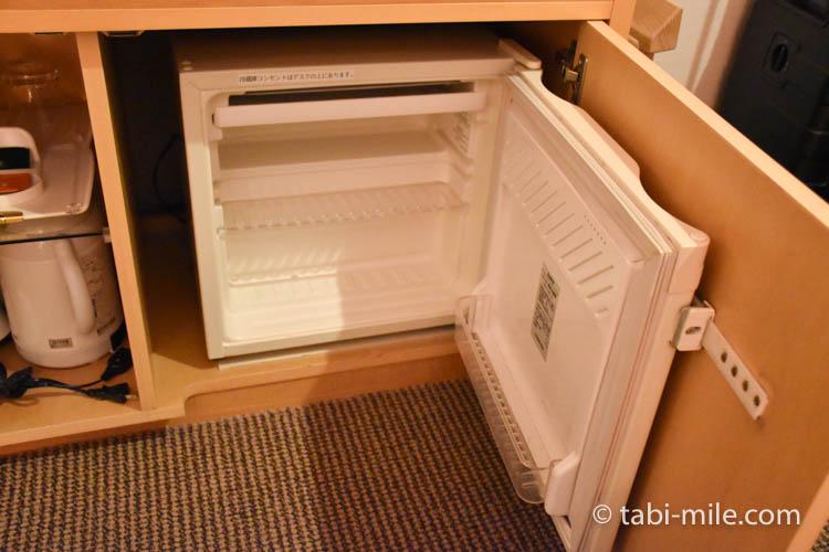 青森旅行 ホテルJALシティ青森 部屋 冷蔵庫
