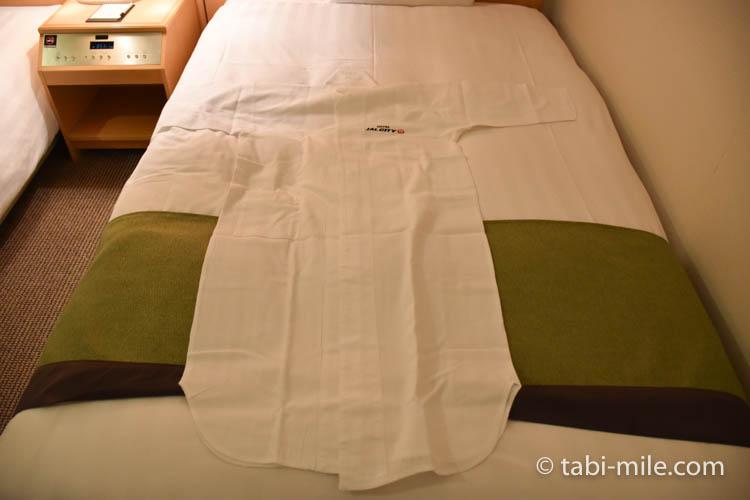 青森旅行 ホテルJALシティ青森 部屋 ナイトウェア サイズ