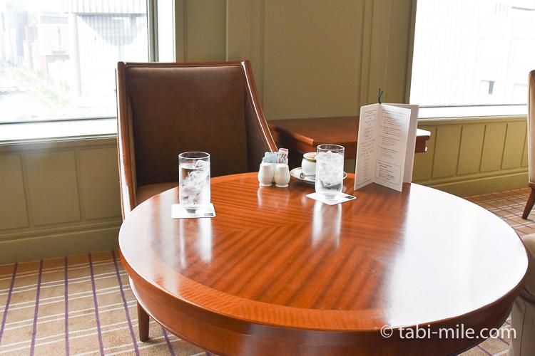 帝国ホテル アフタヌーンティー 席の雰囲気