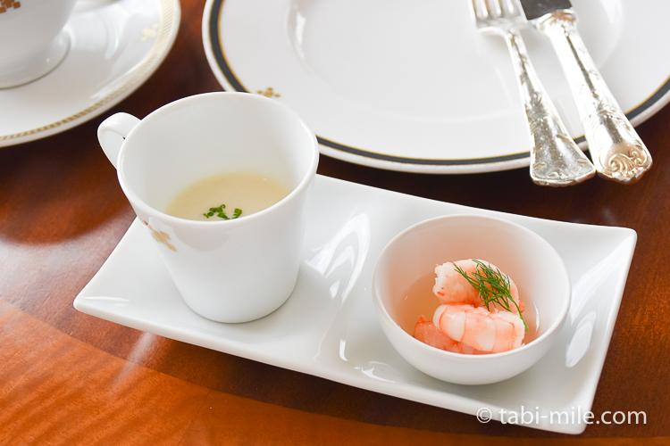 帝国ホテル アフタヌーンティー 前菜1