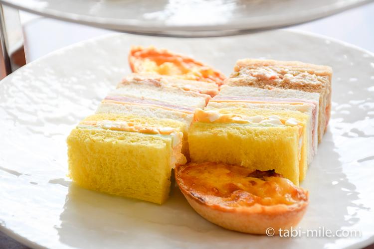 帝国ホテル アフタヌーンティー サンドイッチ