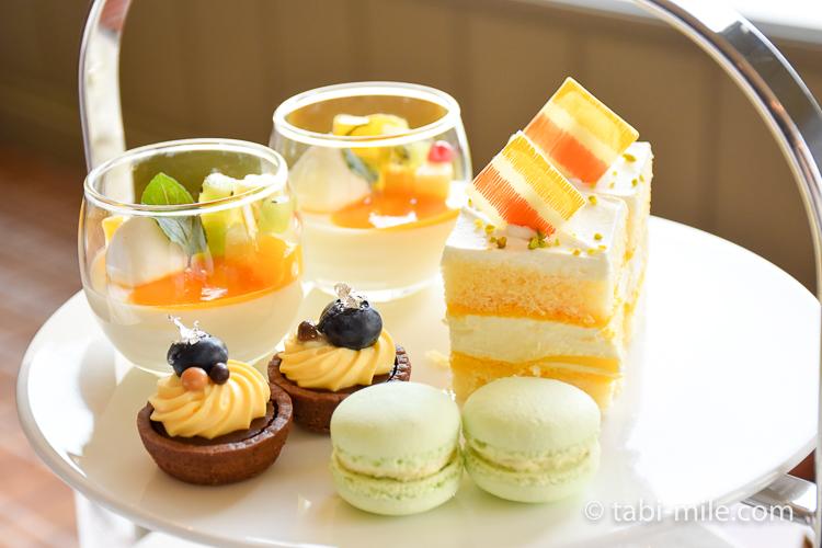 帝国ホテル アフタヌーンティー ケーキ