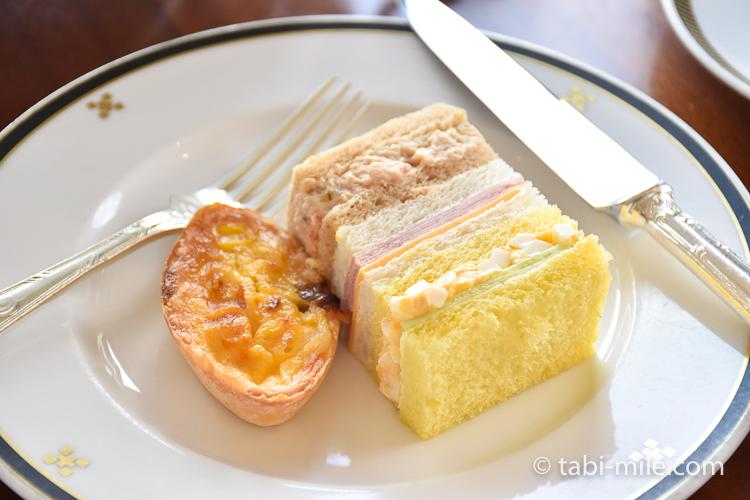 帝国ホテル アフタヌーンティー サンドイッチ2