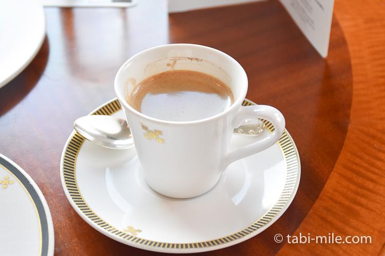 帝国ホテル アフタヌーンティー コーヒー