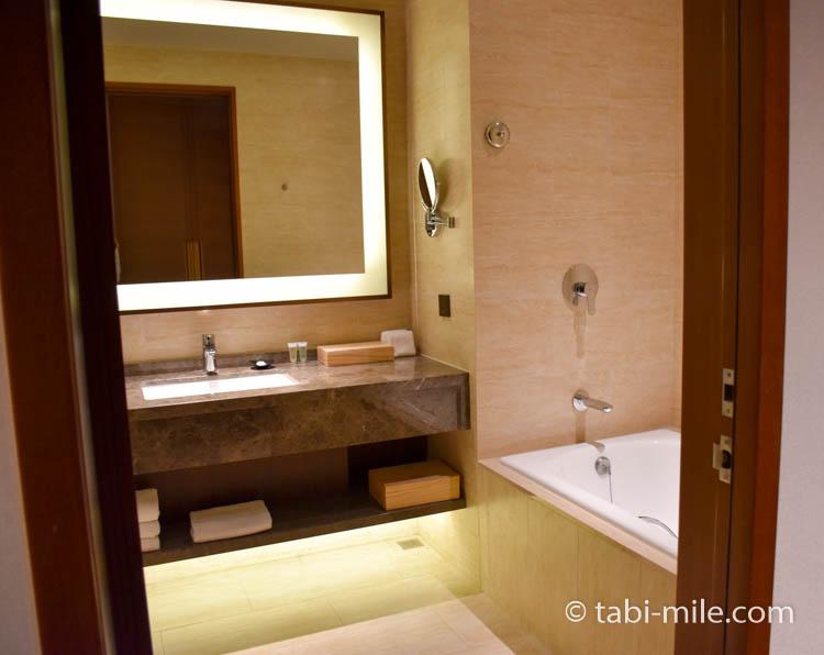 コートヤード台北 エグゼクティブルーム バスルーム