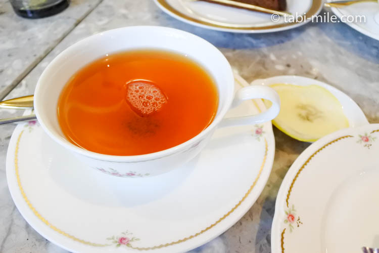 青森旅行 シュトラウス 紅茶