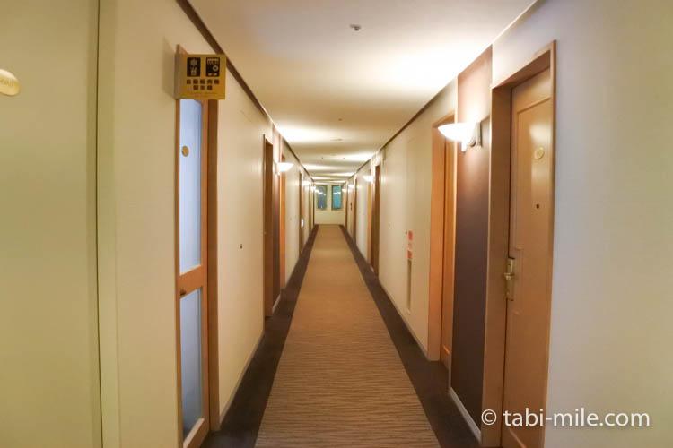 青森旅行 ホテルJALシティ青森 廊下