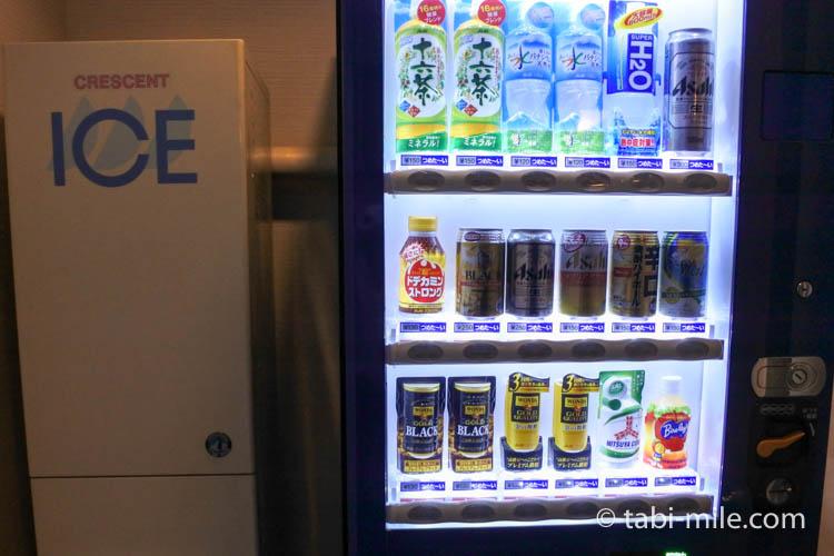 青森旅行 ホテルJALシティ青森 自動販売機 アイスマシーン