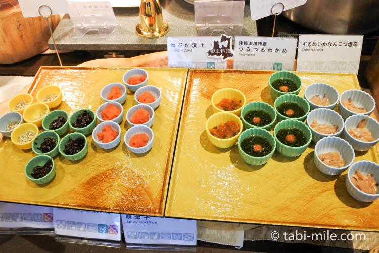 ホテルJALシティ青森 ラ・セーラ 朝食 おかず 小鉢
