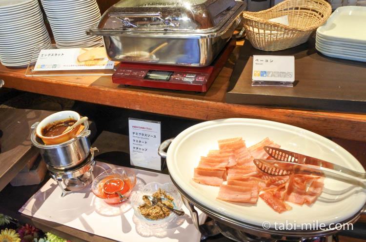 ホテルJALシティ青森 ラ・セーラ 朝食 ベーコン