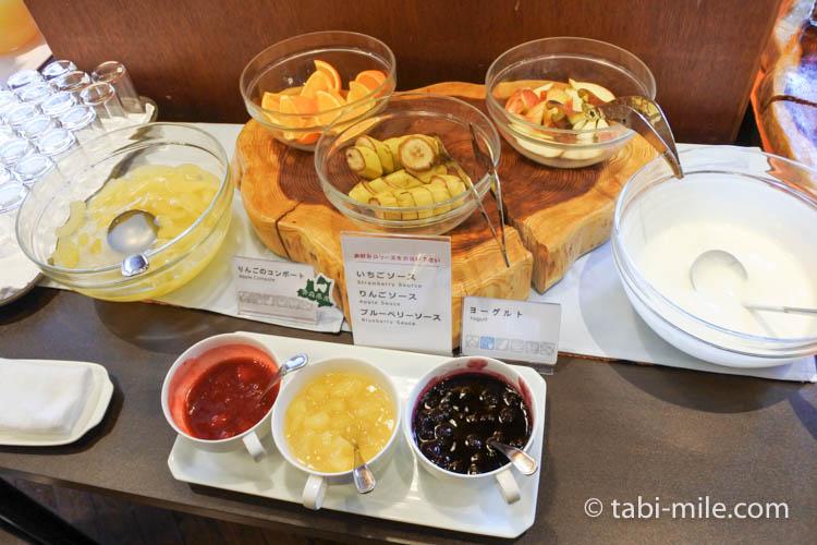 ホテルJALシティ青森 ラ・セーラ 朝食 パン ジャム
