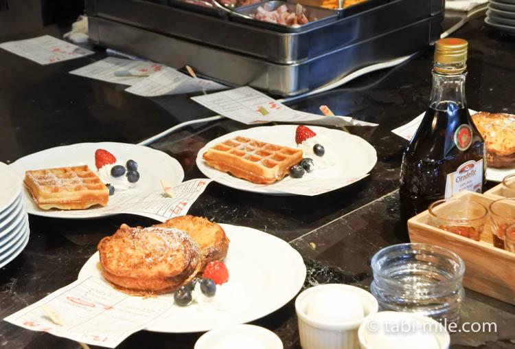 マリオット東京 朝食 オーダー形式