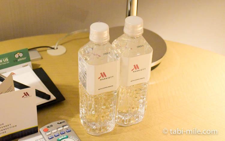 マリオット東京 部屋 無料水