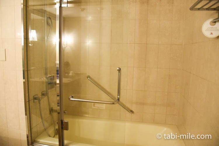 マリオット東京 部屋 シャワールーム