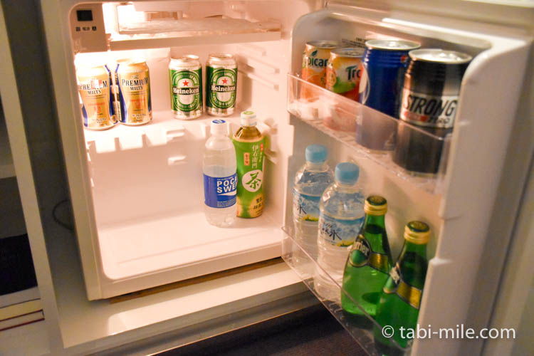 マリオット東京 部屋 冷蔵庫