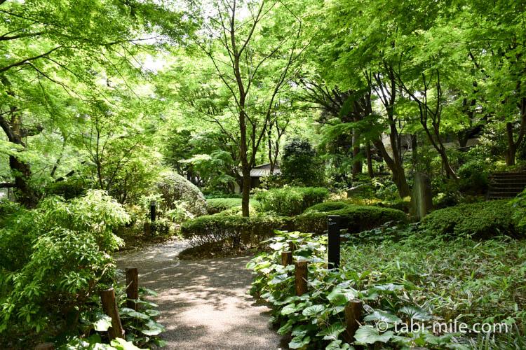 マリオット東京 庭