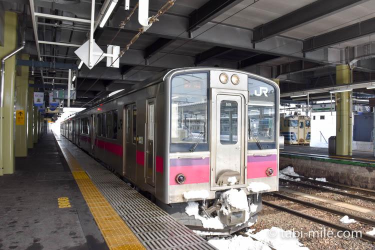 青森旅行 弘前駅 電車