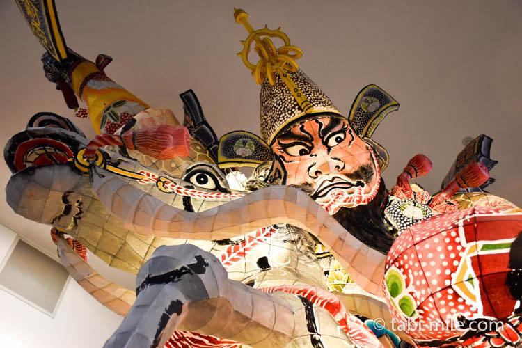 青森旅行 弘前 観光館 ねぶた2