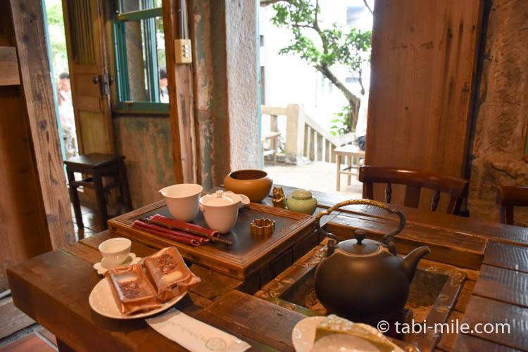 台湾 九份茶坊の台湾茶