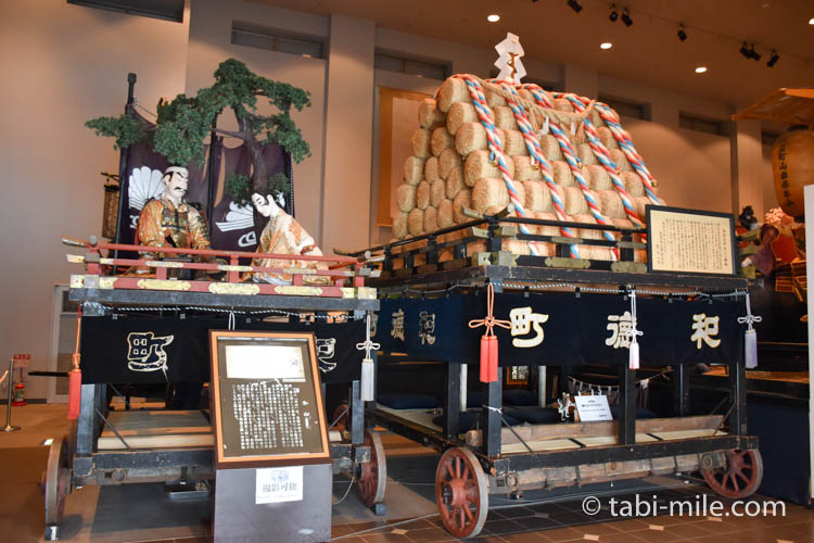 青森旅行 弘前 山車展示館
