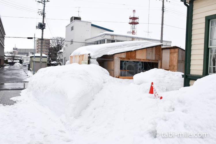 青森旅行 弘前 ミニチュア建造物