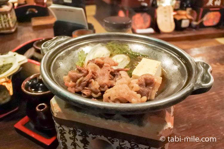 津軽じょっぱり漁屋酒場 お通し 肉豆腐
