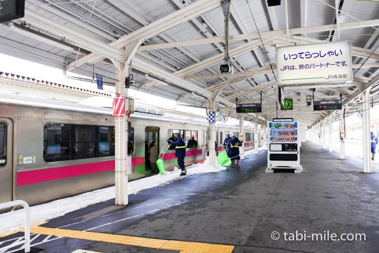 青森旅行 弘前 電車1