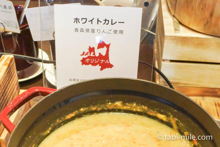 ホテルJALシティ青森 ラ・セーラ 朝食 りんご入りホワイトカレー