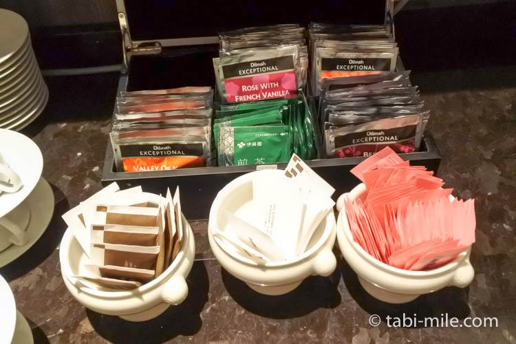 マリオット東京 エグゼクティブラウンジ パン2マリオット東京 エグゼクティブラウンジ 紅茶