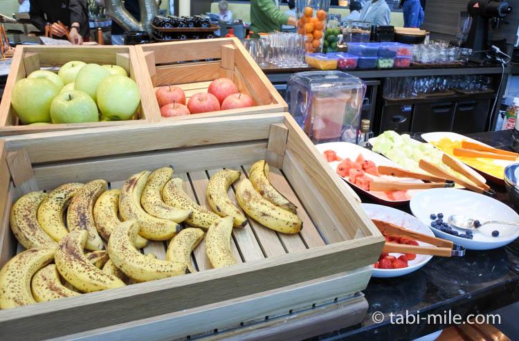 マリオット東京 朝食 果物