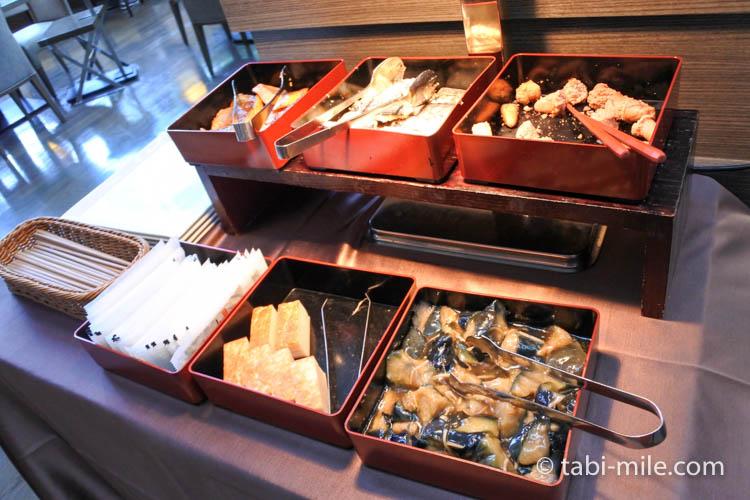 マリオット東京 朝食 和食