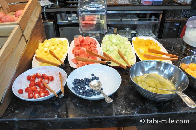 マリオット東京 朝食 フルーツ果物