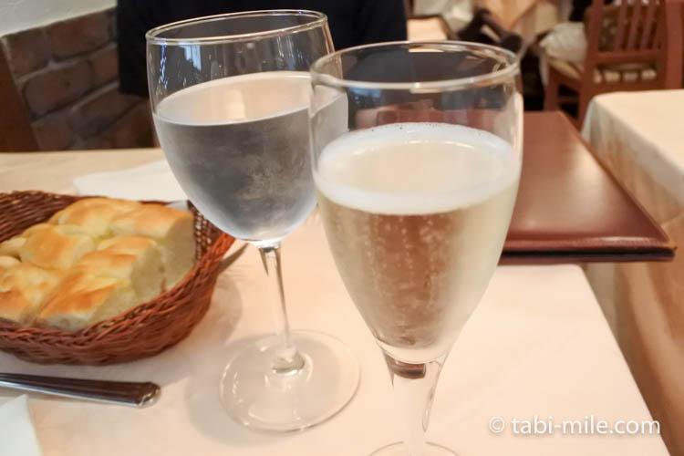イタリアンレストランウィーク2017 エリオ シャンパン