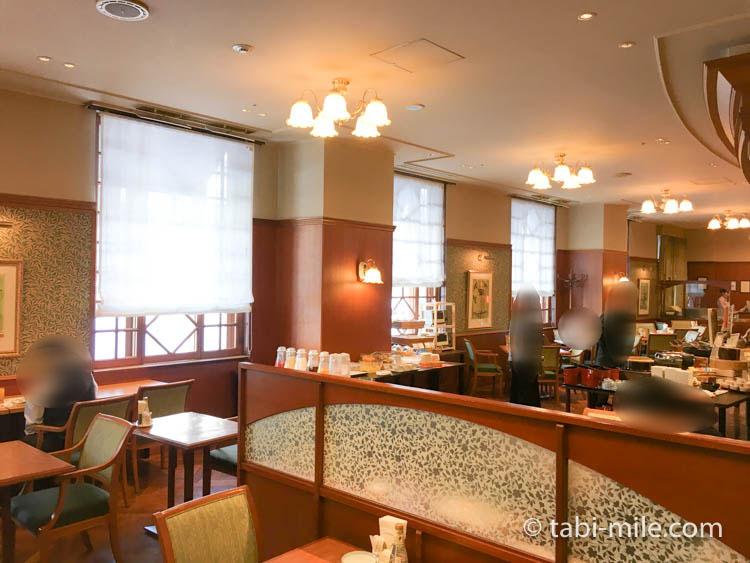 ホテルJALシティ青森 ラ・セーラ 朝食 店内の様子