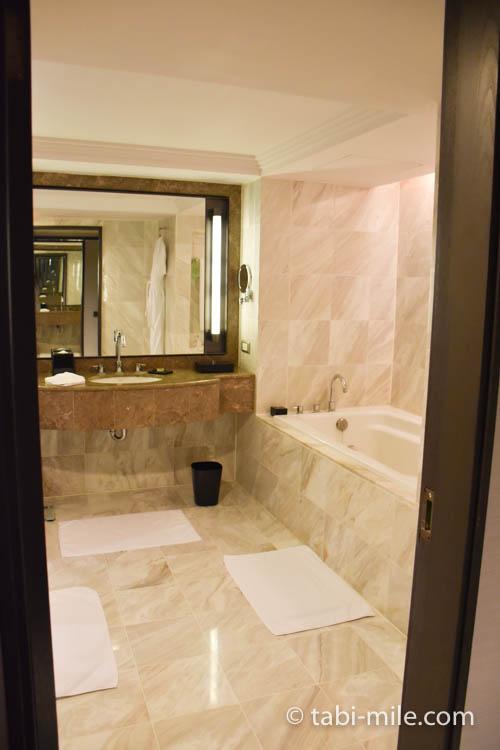 台湾旅行 リージェント台北 部屋バスルーム