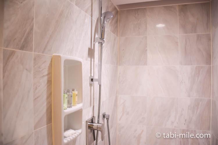 台湾旅行 リージェント台北 部屋バスルースシャワールームシャワーヘッド