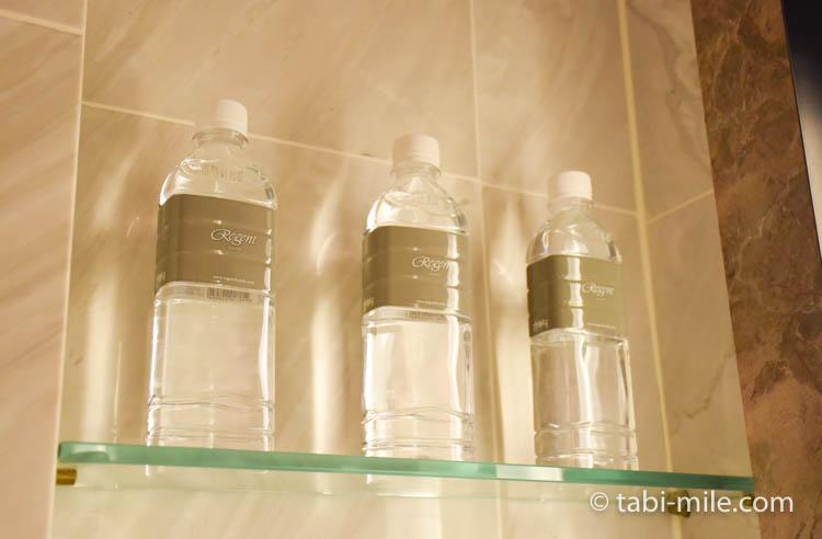 台湾旅行 リージェント台北 部屋バスルース洗面所水