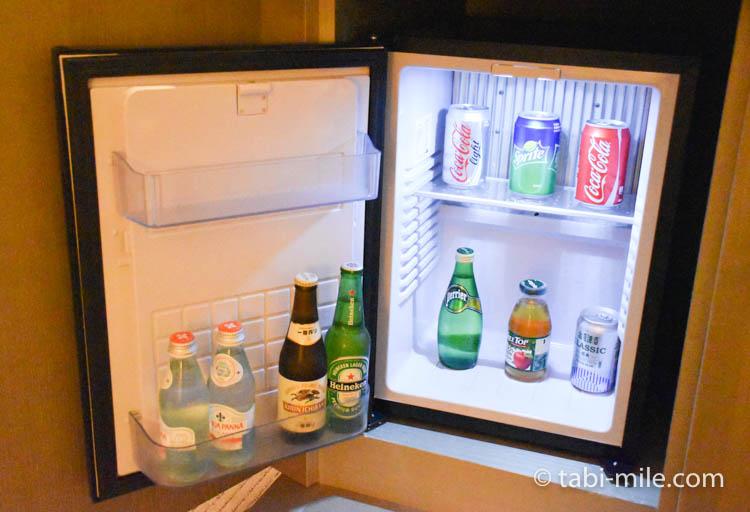 台湾旅行 リージェント台北 部屋冷蔵庫