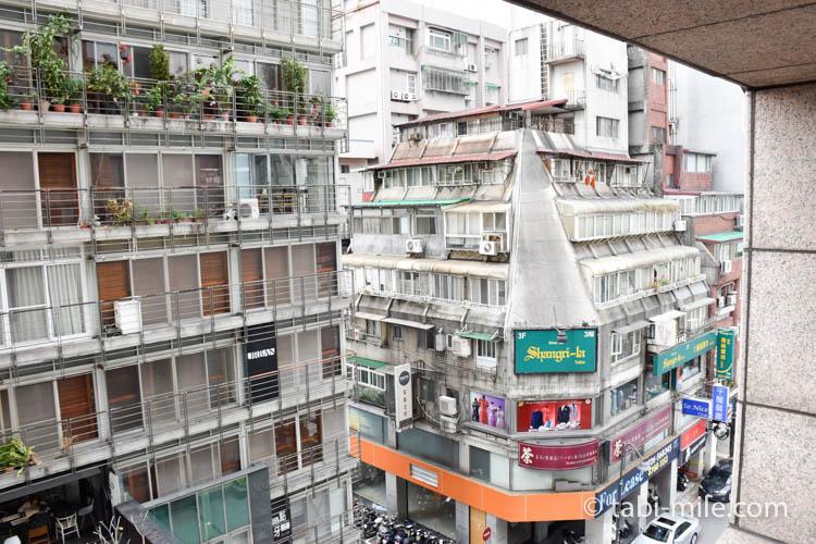 台湾旅行 リージェント台北 部屋からの景色朝3