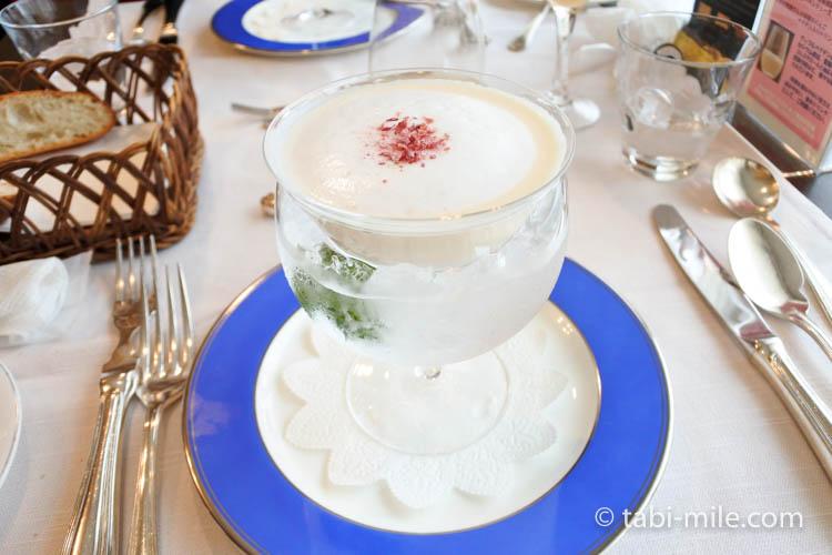 青森弘前 レストラン山崎 りんごのスープ3