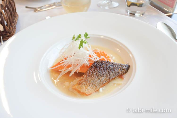 青森弘前 レストラン山崎 魚料理2