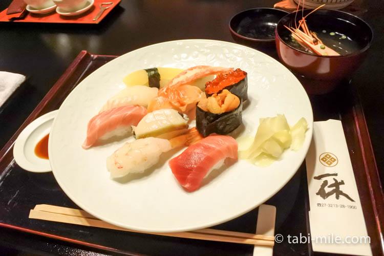 青森弘前 一休寿司 にぎり寿司2