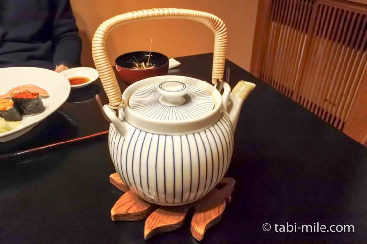 青森弘前 一休寿司 にぎり寿司 お茶