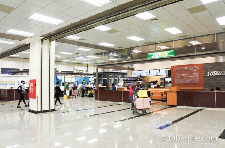 台湾旅行ー台北松山空港 ターミナル